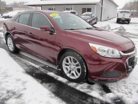 2015 Chevrolet Malibu for sale at Thompson Motors LLC in Attica NY