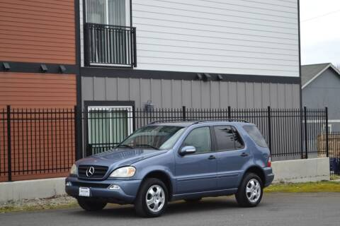 2004 Mercedes-Benz M-Class for sale at Skyline Motors Auto Sales in Tacoma WA