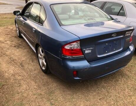 2008 Subaru Legacy for sale at GDT AUTOMOTIVE LLC in Hopewell NY