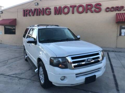 2013 Ford Expedition for sale at Irving Motors Corp in San Antonio TX