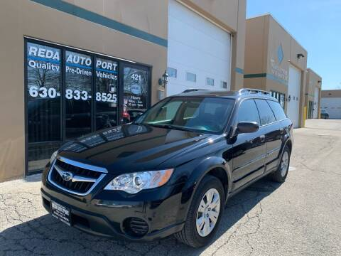 2008 Subaru Outback for sale at REDA AUTO PORT INC in Villa Park IL