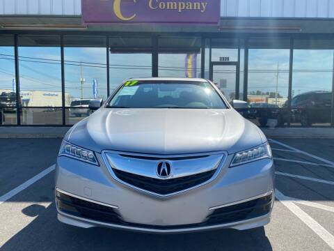 2017 Acura TLX for sale at Washington Motor Company in Washington NC