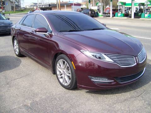 2013 Lincoln MKZ Hybrid for sale at Collector Car Co in Zanesville OH