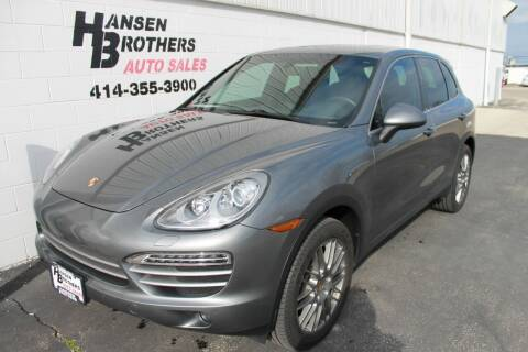 2014 Porsche Cayenne for sale at HANSEN BROTHERS AUTO SALES in Milwaukee WI
