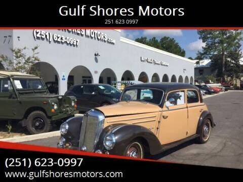 1952 Mercedes-Benz 220 S for sale at Gulf Shores Motors in Gulf Shores AL