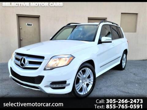 2015 Mercedes-Benz GLK for sale at Selective Motor Cars in Miami FL