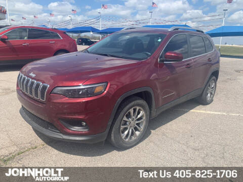 2019 Jeep Cherokee for sale at JOHN HOLT AUTO GROUP, INC. in Chickasha OK