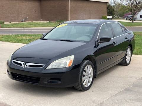 2006 Honda Accord for sale at Rolling Wheels LLC in Hesston KS