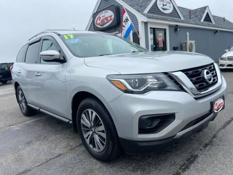 2017 Nissan Pathfinder for sale at Cape Cod Carz in Hyannis MA