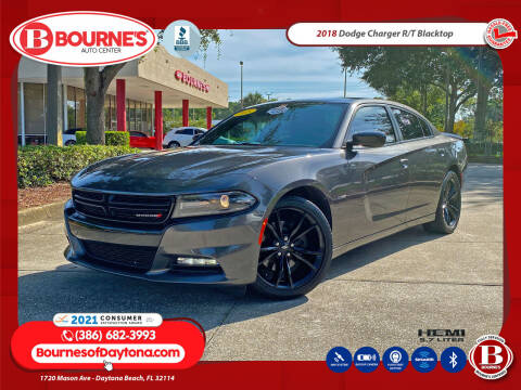 2018 Dodge Charger for sale at Bourne's Auto Center in Daytona Beach FL