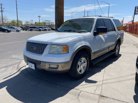 2003 Ford Expedition for sale at Borrego Motors in El Paso TX