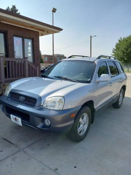 2004 Hyundai Santa Fe for sale at CARS4LESS AUTO SALES in Lincoln NE