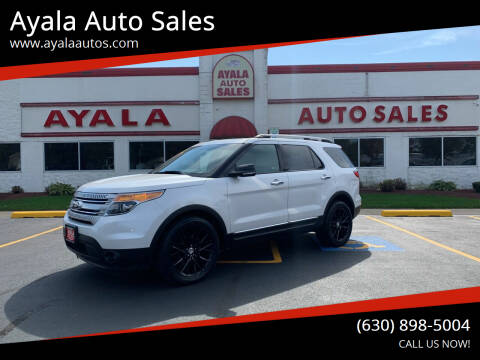 2014 Ford Explorer for sale at Ayala Auto Sales in Aurora IL