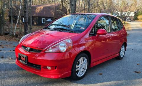 2008 Honda Fit for sale at JR AUTO SALES in Candia NH
