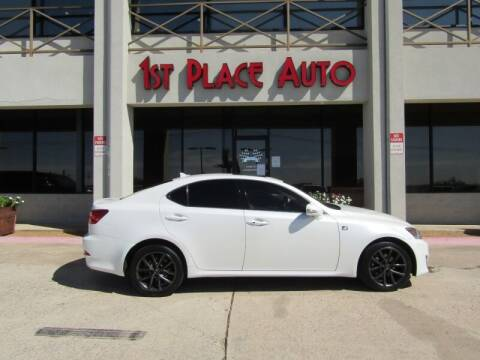 2012 Lexus IS 250 for sale at First Place Auto Ctr Inc in Watauga TX