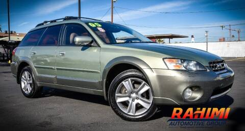 2005 Subaru Outback for sale at Rahimi Automotive Group in Yuma AZ