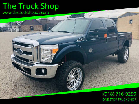 2016 Ford F-350 Super Duty for sale at The Truck Shop in Okemah OK