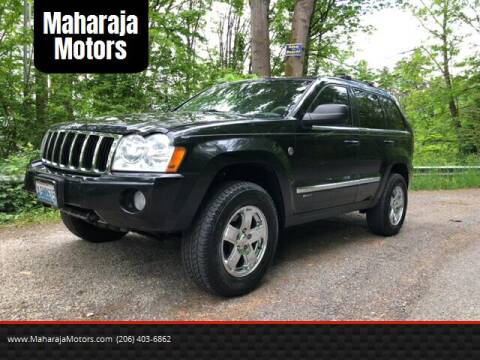 2005 Jeep Grand Cherokee for sale at Maharaja Motors in Seattle WA