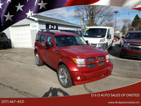 2008 Dodge Nitro for sale at D & D Auto Sales Of Onsted in Onsted   Brooklyn MI