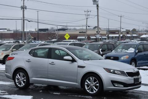 2013 Kia Optima for sale at Broadway Garage of Columbia County Inc. in Hudson NY