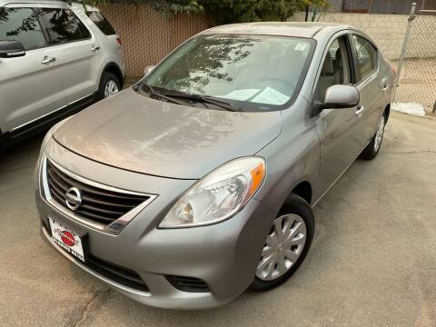 2012 Nissan Versa for sale at Approved Autos in Bakersfield CA