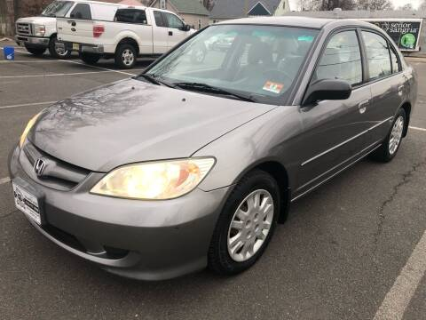 2004 Honda Civic for sale at EZ Auto Sales , Inc in Edison NJ