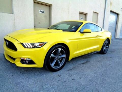 2015 Ford Mustang for sale at Selective Motor Cars in Miami FL