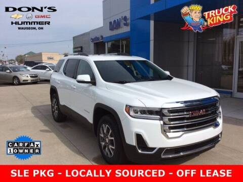 2020 GMC Acadia for sale at DON'S CHEVY, BUICK-GMC & CADILLAC in Wauseon OH