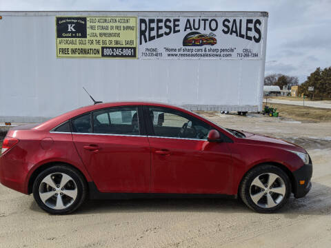 2011 Chevrolet Cruze for sale at Reese Auto Sales in Pocahontas IA