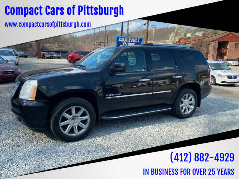 2009 GMC Yukon for sale at Compact Cars of Pittsburgh in Pittsburgh PA