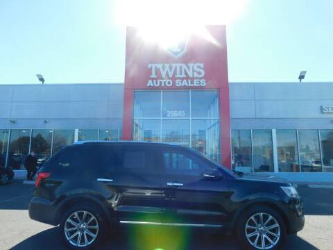 2016 Ford Explorer for sale at Twins Auto Sales Inc Redford 1 in Redford MI