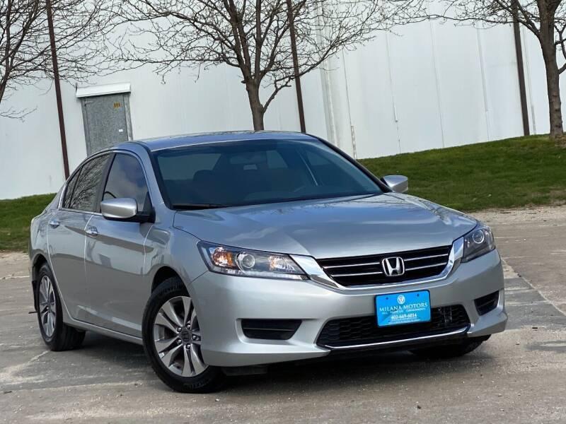 2014 Honda Accord for sale at MILANA MOTORS in Omaha NE