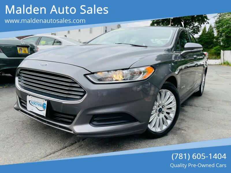 2014 Ford Fusion Hybrid for sale in Malden, MA