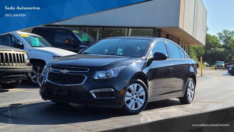 2015 Chevrolet Cruze for sale at Sedo Automotive in Davison MI