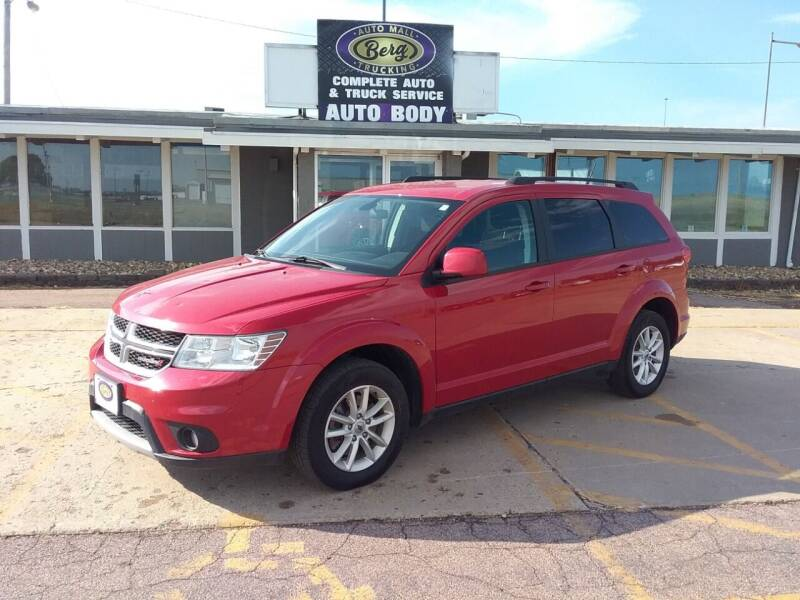 2018 Dodge Journey for sale at BERG AUTO MALL & TRUCKING INC in Beresford SD