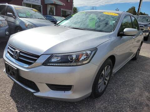 2013 Honda Accord for sale at Hwy 13 Motors in Wisconsin Dells WI