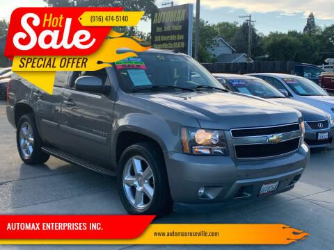 2007 Chevrolet Tahoe for sale at AUTOMAX ENTERPRISES INC. in Roseville CA