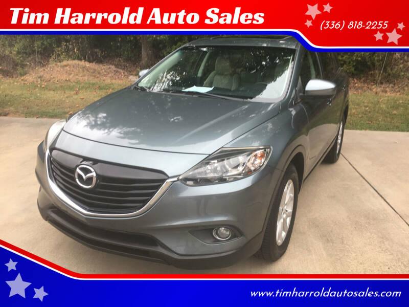2013 Mazda CX-9 for sale at Tim Harrold Auto Sales in Wilkesboro NC