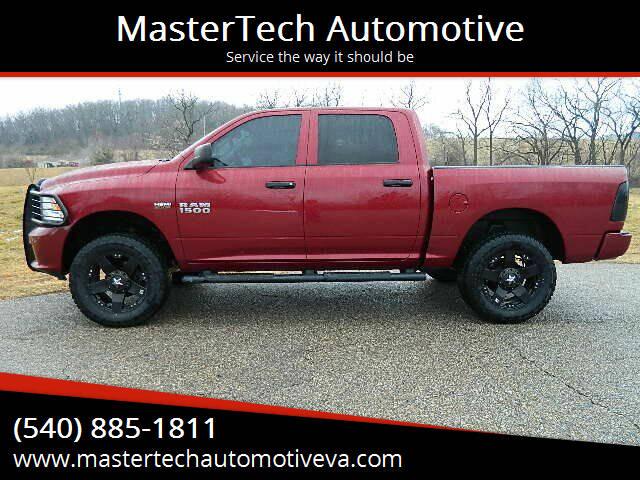2014 RAM Ram Pickup 1500 for sale at MasterTech Automotive in Staunton VA