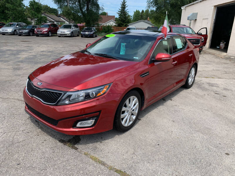2014 Kia Optima for sale at PAPERLAND MOTORS - Fresh Inventory in Green Bay WI