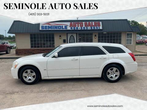 2006 Dodge Magnum for sale at Seminole Auto Sales in Seminole OK