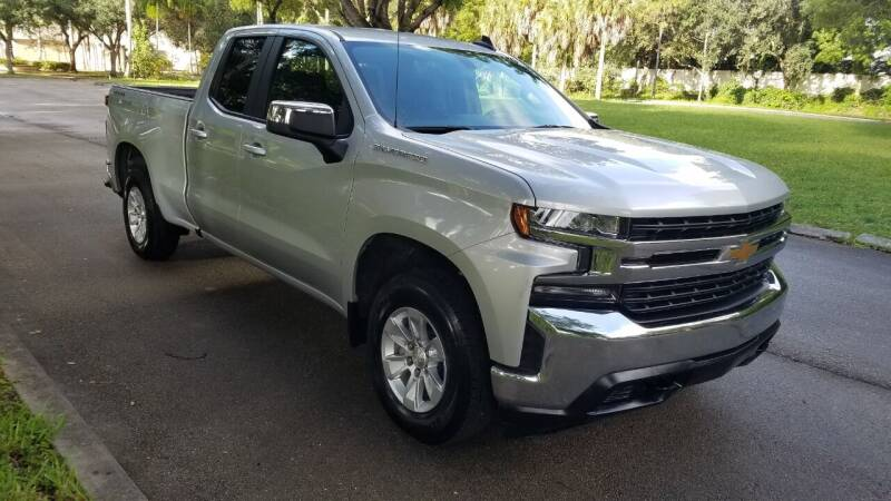 2020 Chevrolet Silverado 1500 for sale at DELRAY AUTO MALL in Delray Beach FL