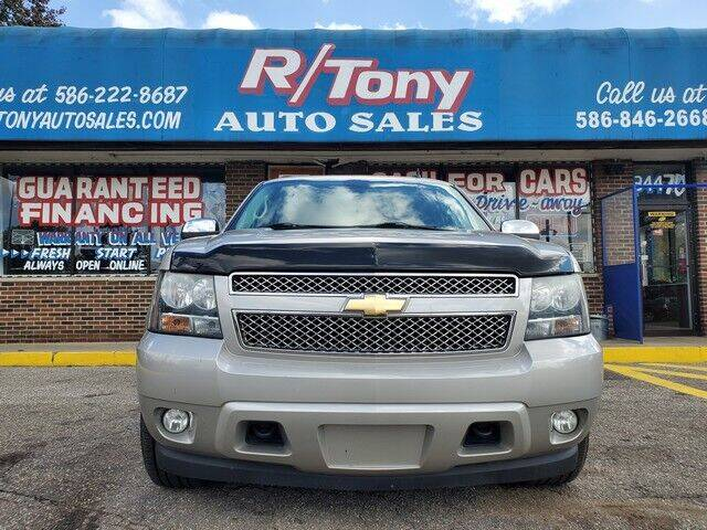 2009 Chevrolet Tahoe for sale at R Tony Auto Sales in Clinton Township MI