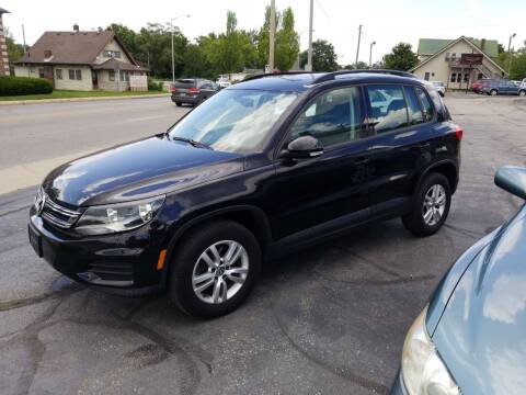 2016 Volkswagen Tiguan for sale at Indiana Auto Sales Inc in Bloomington IN