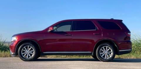 2017 Dodge Durango for sale at Palmer Auto Sales in Rosenberg TX