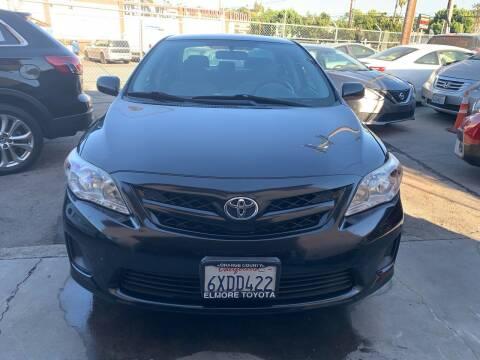 2012 Toyota Corolla for sale at Aria Auto Sales in El Cajon CA