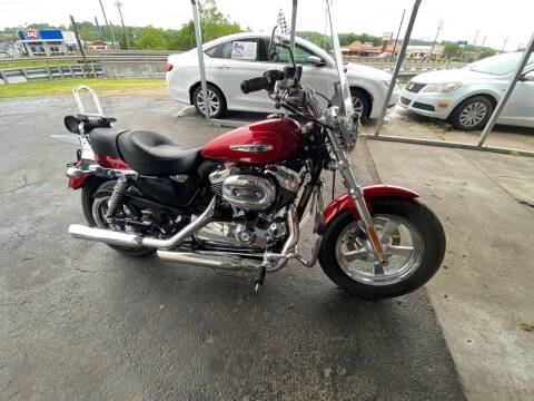2013 Harley-Davidson SPORTSTER 1200 CUSTOM for sale at Brian Jones Motorsports Inc in Danville VA
