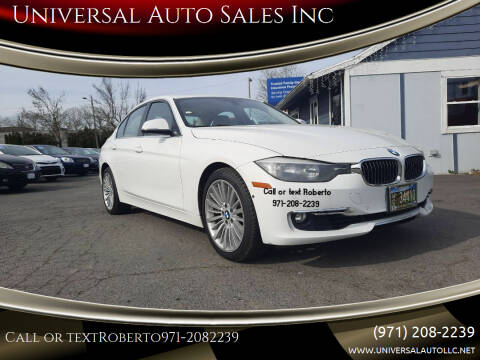 2012 BMW 3 Series for sale at Universal Auto Sales Inc in Salem OR