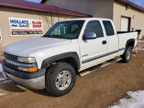 1999 Chevrolet Silverado 2500 for sale at Hollatz Auto Sales in Parkers Prairie MN