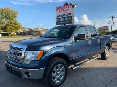 2013 Ford F-150 for sale at Unlimited Auto Group in West Chester OH